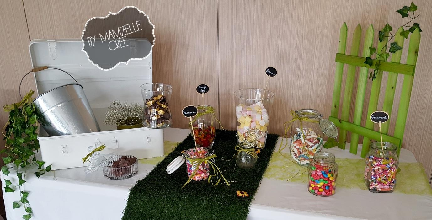 Candy bar printemps by mam'zelle crée