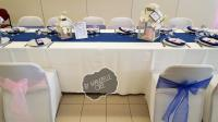 Deco de table bleu et rose mam'zelle crée