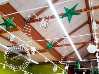 Décoration Noël supermarché