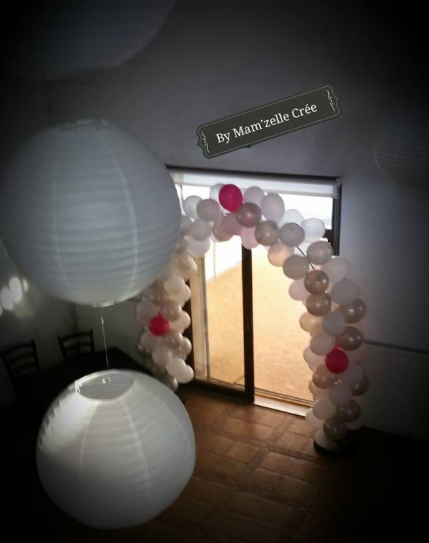 Arche de ballons Mam'zelle crée