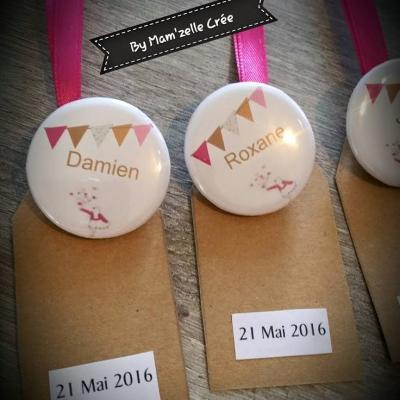 Badges fanion Marque-place