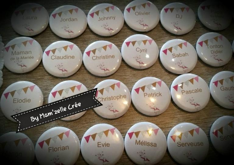 Badges fanions