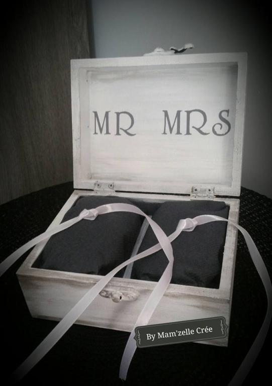 Boite Mr. & Mrs blanche