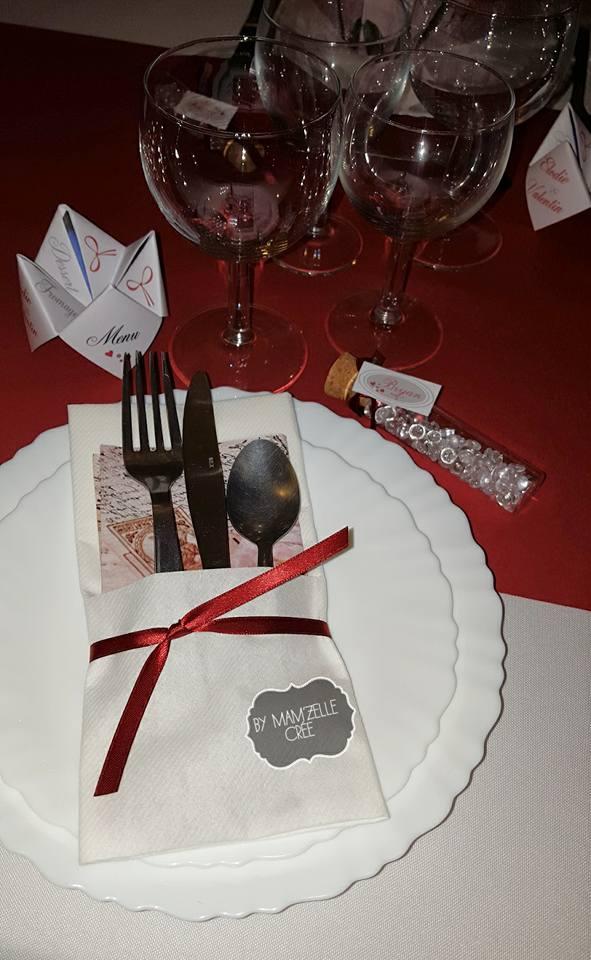 décoration mariage bordeaux et blanc mam'zelle crée