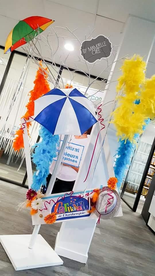 Décor carnaval entreprise mamzelle crée