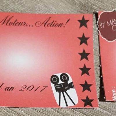 Invitations cinéma by Mam'zelle crée