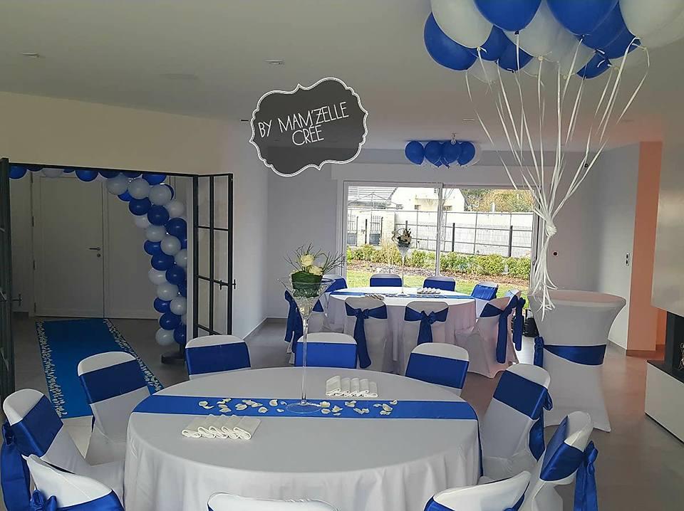 Mariage bleu - Deco de table bleu ...