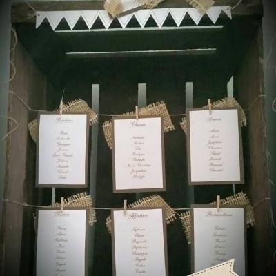 plan de table caisse en bois vintage mam'zelle crée