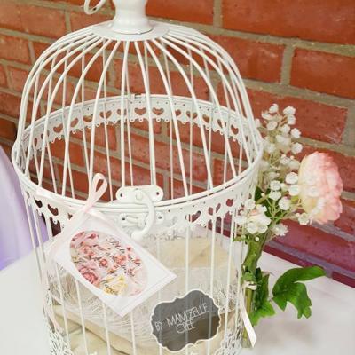urne cage champêtre mamzelle cree