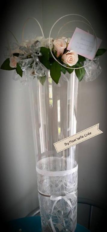 Urne vase conique Mam'zelle crée